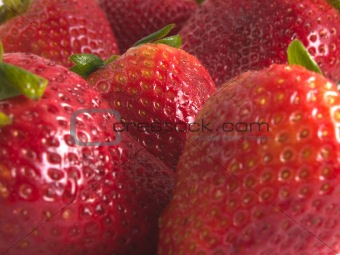 strawberrys close up