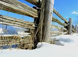 Wooden Fence.