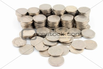 Money - 20 Pence Pieces 2