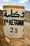 Sign Board to Ketama