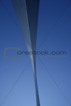 Close up on The Arch at St. Louis