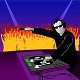 DJ party dance