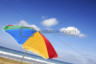 Bright Beach Parasol