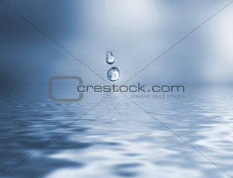 Water drops