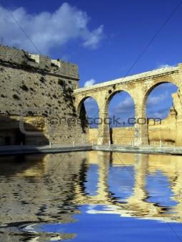 Castle Moat & Bridge