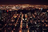 Manhatten at night