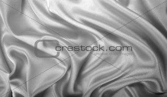 Grey silk
