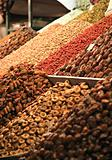 Food market stall in Marrakech Souk