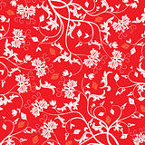 Floral pattern, vector