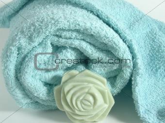 Towels close-up