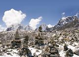 Buddhist Stones - Nepal