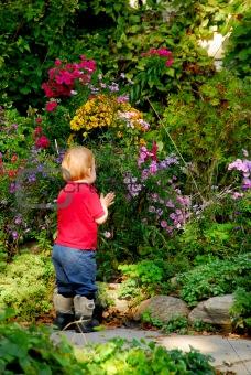 Toddler garden