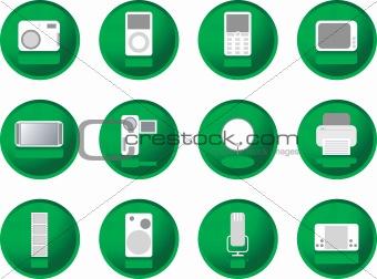 greenberry buttons gadgets