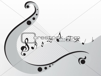 classical instrument and its tunes, wallpaper