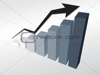 corporate financial graph wallpaper