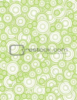Abstract circles. Vector art