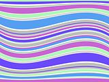 Illustration of abstract colorful lines. Vector