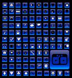 Over 100 Buttons, Web, Design, Office, Business, Zodiac, Weather