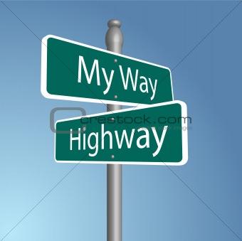 Crossroads signs