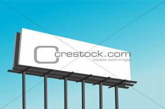 Blank Billboard Illustration