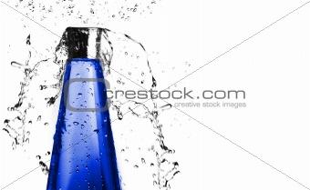 Blue Bottle Splash