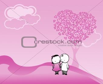 valentine drawing theme