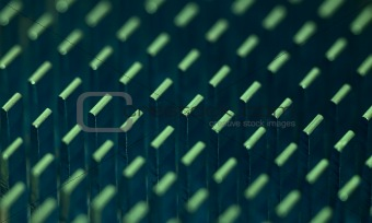 Abstract background - aluminium radiator