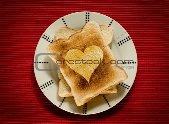 Toast with Love