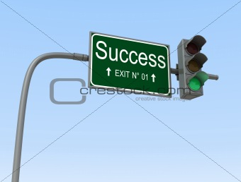green light for success