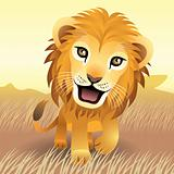 Baby Animal collection: Lion