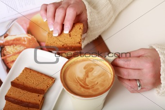 Small break - coffee and cake