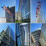 European parliament collage
