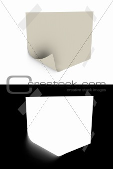 slip of paper