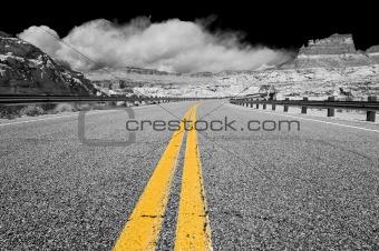 Hite bridge, Glen Canyon