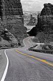 Winding road, Glen Canyon