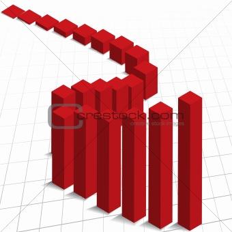 Chart graph profit increase