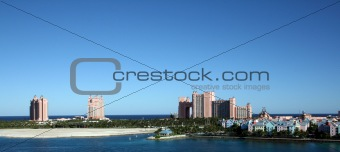 Atlantis Resort and Casino on Paradise Island in Nassau, Bahamas