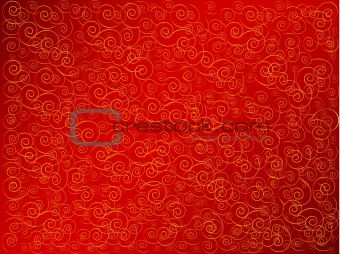 abstract background in red and gold