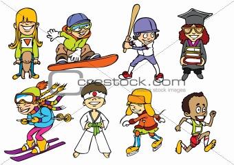 Fun sport kids