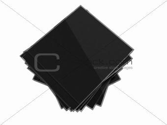 Cd blank box over white