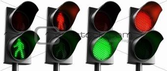 Crosswalk lights