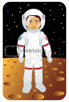 Profession series: Astronaut on the moon