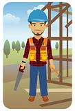 Profession series: Construction worker