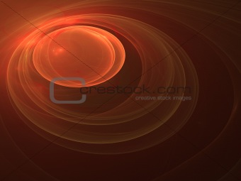 Abstract background. Orange - black palette.