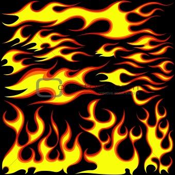 Flames Symbols