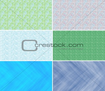 Business cards backgrounds