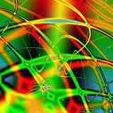 Vibrant crazy wires