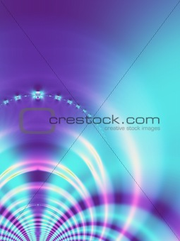 Abstract, blue background