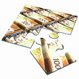 Canadian Currency Concept Puzzle