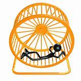 Worn Out Tired Hamster Wheel Runner